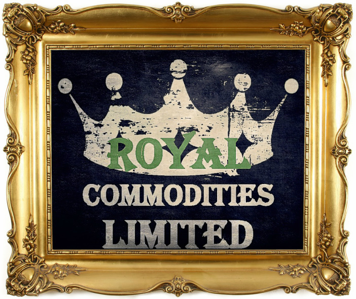 Royal Commodities Ltd, Logo by Sean Riley